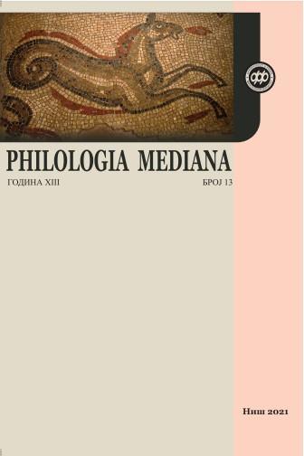 View Vol. 13 No. 13 (2021): PHILOLOGIA MEDIANA 13(2021)